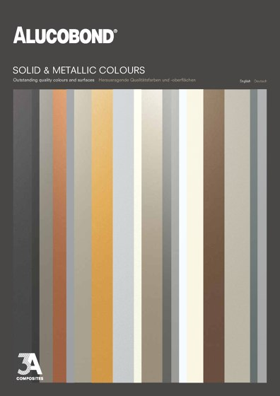 ALUCOBOND® Solid and metallic colours