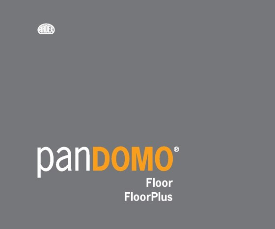 Farbfächer- Floor/Floorplus