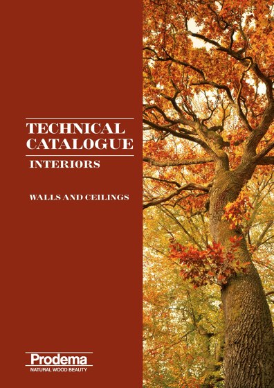 Interiors - Technical Catalogue - Walls and Ceilings