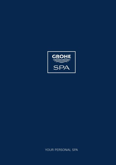 Grohe Spa Book