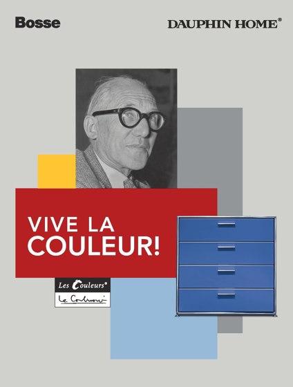 Bosse – Le Corbusier – VIVE LA COULEUR!
