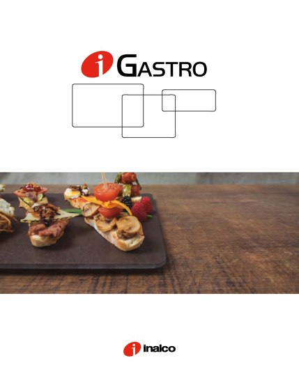iGASTRO CATALOGUE