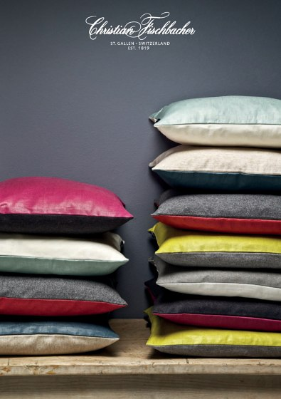 Brochure cushions 2014