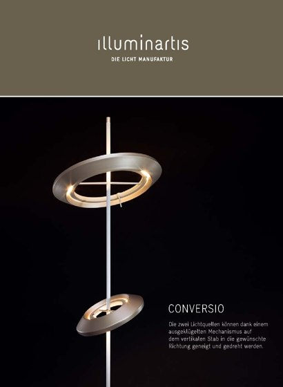Illuminartis Conversio Floor Lamp 2015