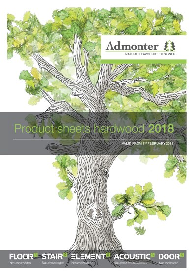 Product sheets hardwood 2018