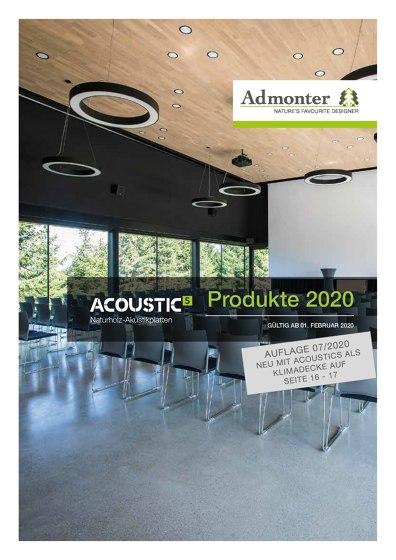 ACOUSTICs Produkte 2020