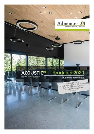ACOUSTICs Products 2020