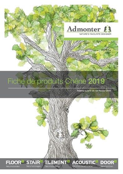Fiche de produits Chêne 2019