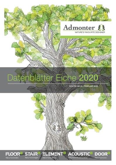 Datenblätter Eiche 2020