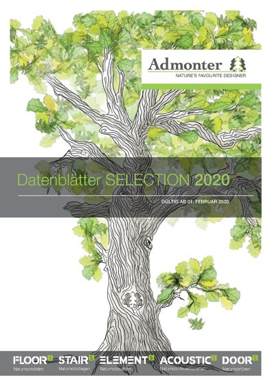 Dateblätter SELECTION 2020