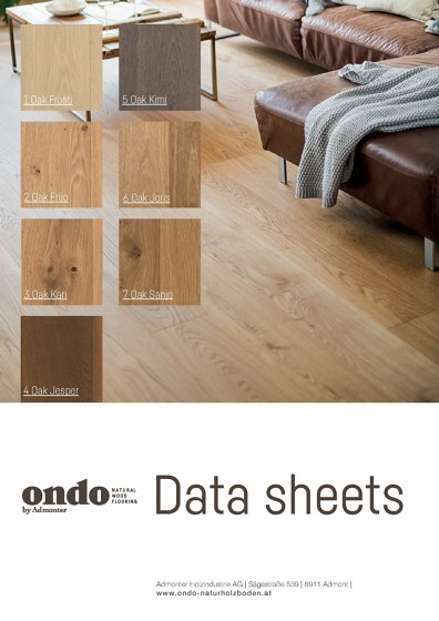 Ondo Data sheets 2020