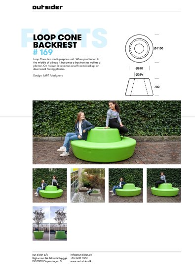 Loop Cone Backrest #169