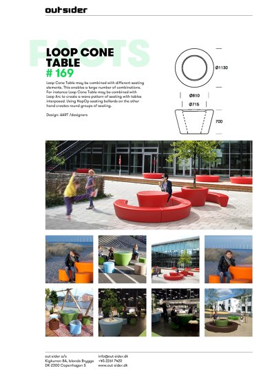 Loop Cone  Table #169