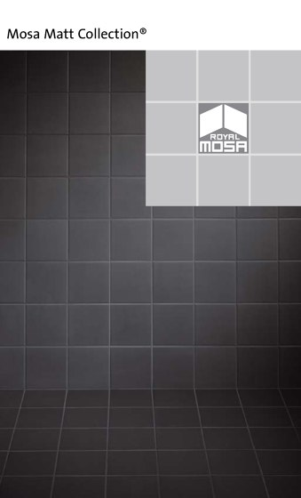 Mosa Matt Collection®