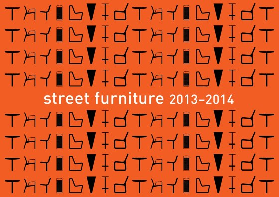 street furniture 2013 - 2014