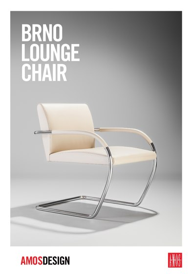 A.M.O.S. DESIGN BRNO Lounge Chair