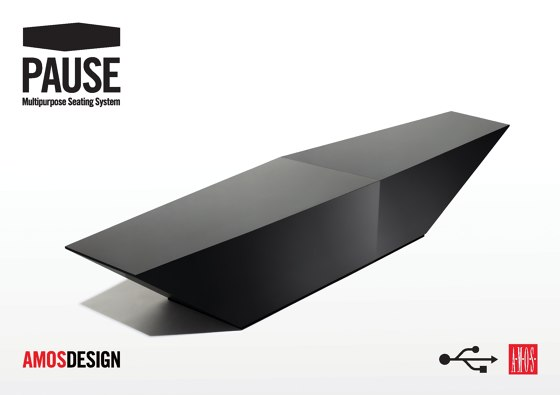 A.M.O.S. DESIGN PAUSE Multipurpose Seating System