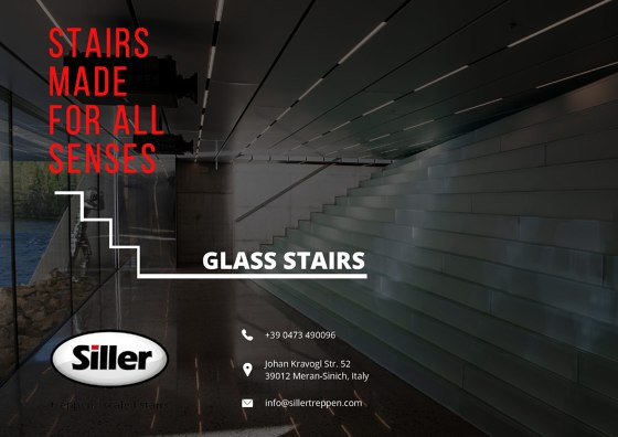 Siller Glass Stairs Brochure 2020