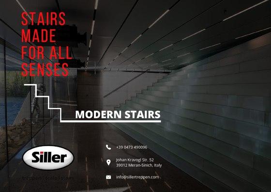 Siller Modern Stairs Brochure 2020