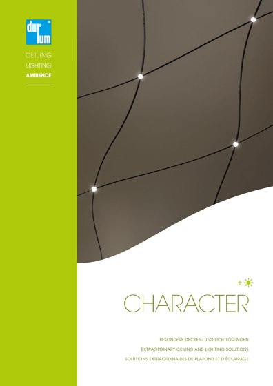 Charakter Catalogue