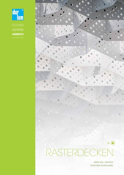 Open Cell Ceilings Catalogue