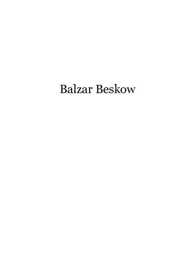 Balzar Beskow Inspiration 2010