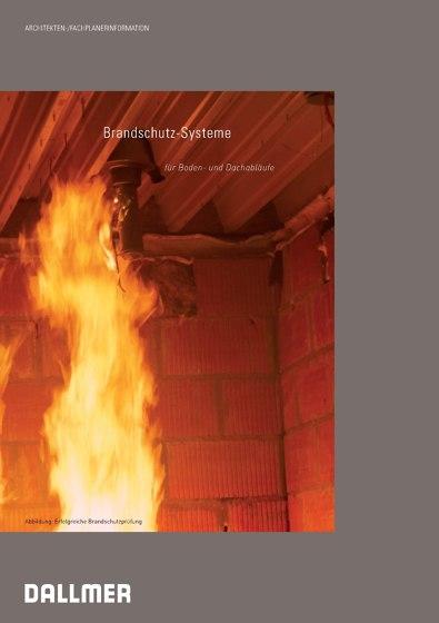 Brandschutz-Systeme für Boden- und Dachabläufe