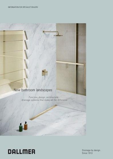 New bathroom landscapes