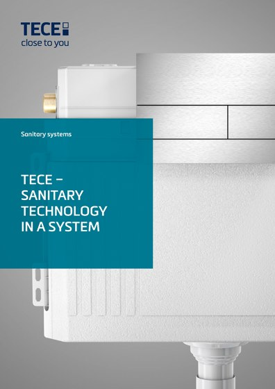 Sanitary systems | tece – Sanitary Technology in a System