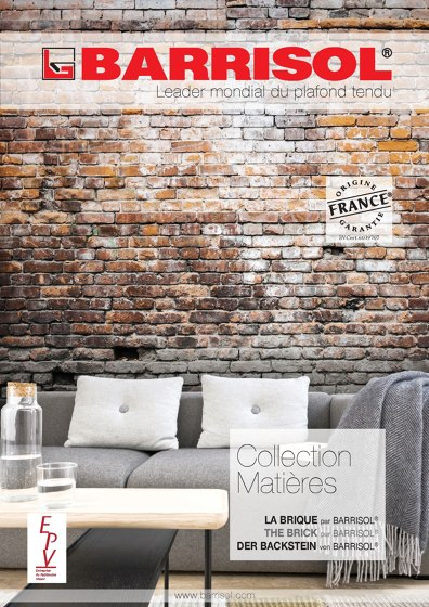 COLLECTION MATERIALS | BRICK