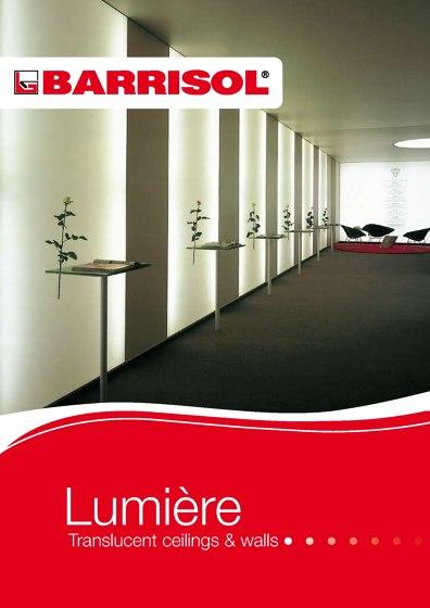 LUMIÈRE | TRANSLUCENT CEILINGS & WALLS