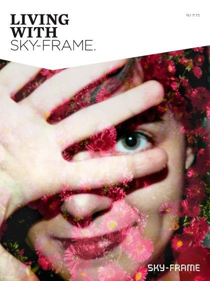 living with sky-frame