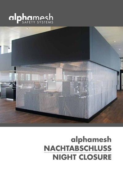 Alphamesh Safety Systems Nightclosure