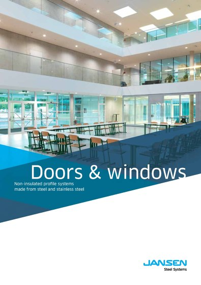 Jansen - Doors and windows - Non insulated profile systems