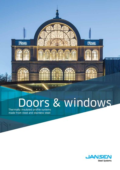 Jansen - Doors and windows - Thermally insulated profile systems
