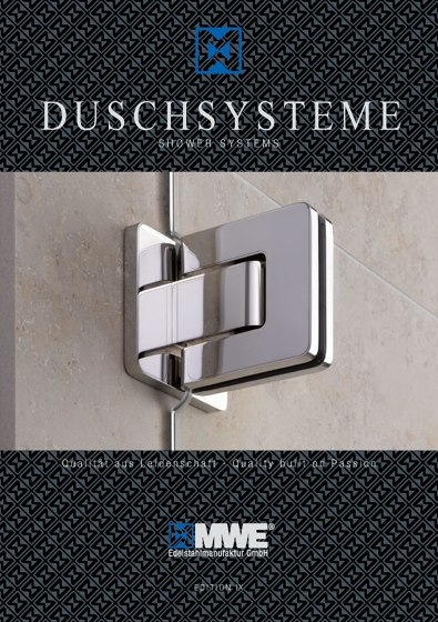 MWE Catalog Shower Systems