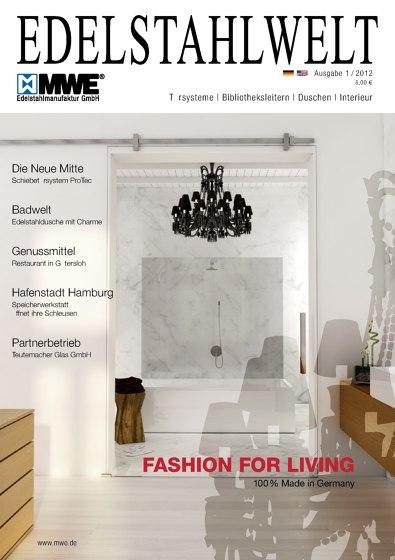 MWE Catalog Edelstahlwelt 1/2012