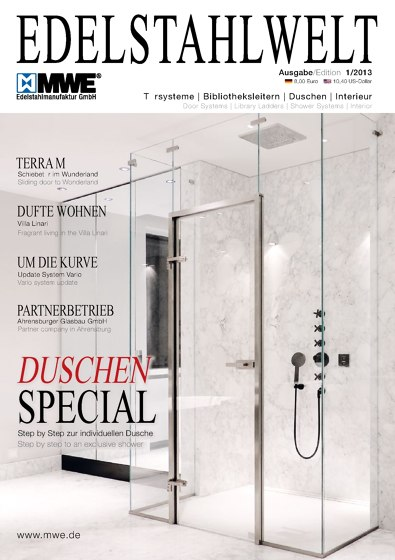 MWE Catalog Edelstahlwelt 1/2013