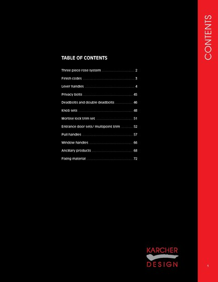 Karcher Design Edition | Catalog | USA