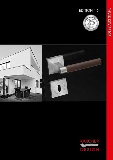 Karcher Design Edition 1.6 | Edles aus Stahl