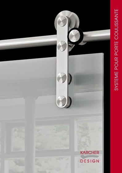 Karcher Design Edition | Systeme pour Porte Coulissante