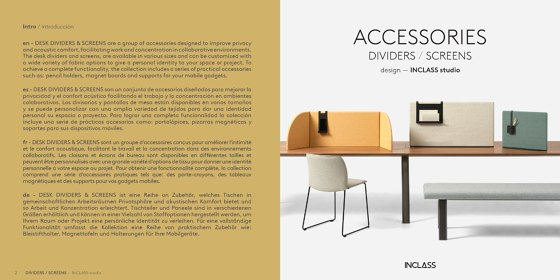 ACCESSOIRES DIVIDERS / SCREENS