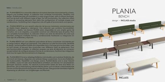 PLANIA BENCH
