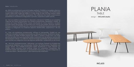 PLANIA TABLE