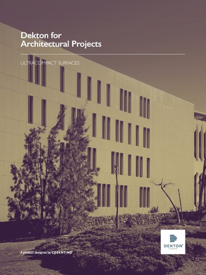 Dekton for Architectural Projects