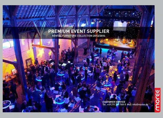 Premium event supplier | Rental furniture collection 2013-2014