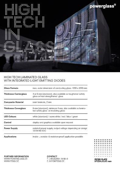 powerglass®  HIGHTECH IN GLASS