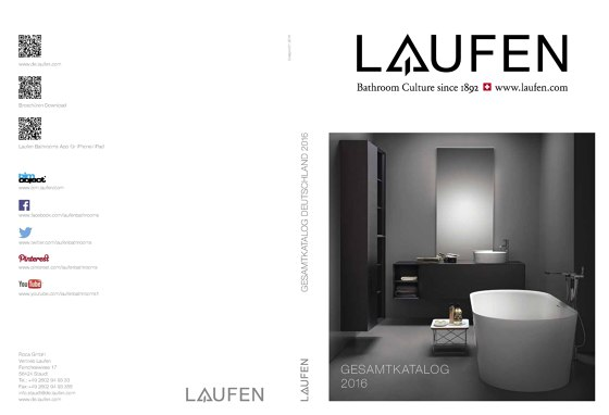 Laufen – General Catalog de 2017