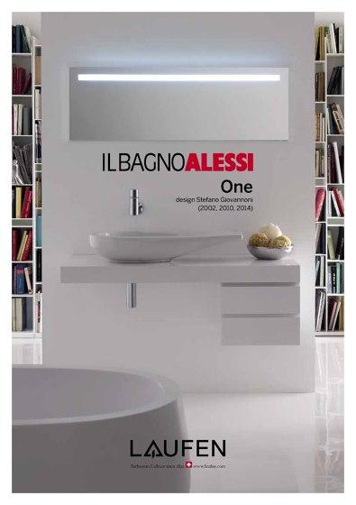 Laufen - Brochure Il Bagno Alessi One 2016