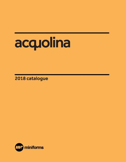 acquolina 2018 catalogue
